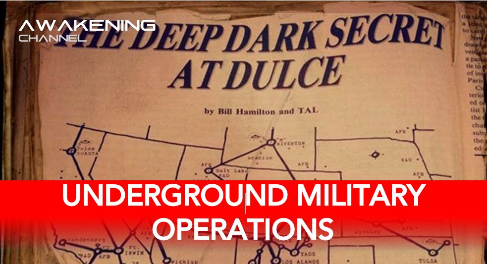 The Ongoing Underground Military Operations