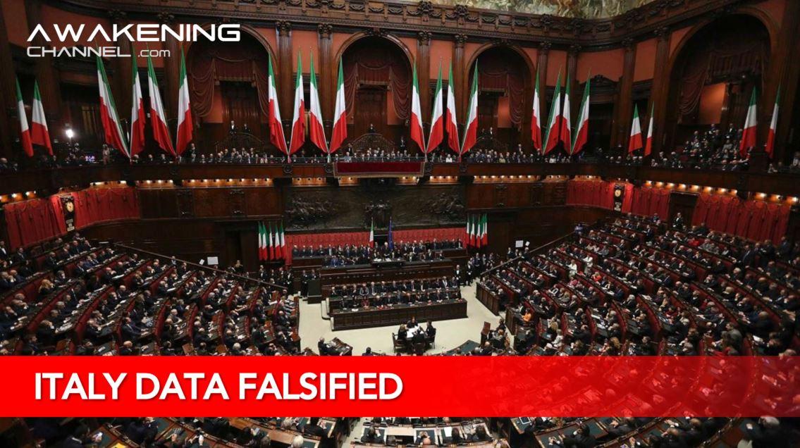 ITALIAN CV19 DATA FALSIFIED TO IMPOSE DICTATORSHIP