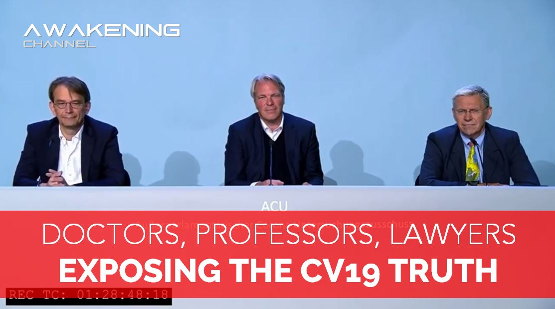 DOCTORS, PROFESSORS, LAWYERS… EXPOSING THE CV19 TRUTH