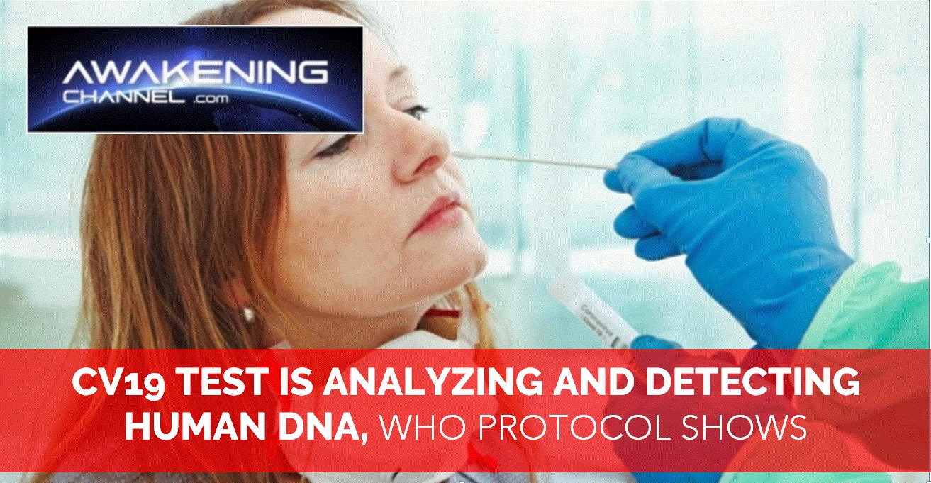 CV19 TEST IS ANALYZING AND DETECTING HUMAN DNA (PART 2)