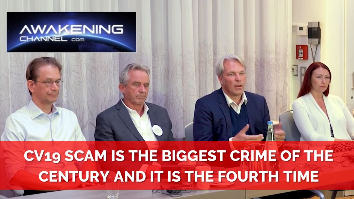 CV19 SCAM is the BIGGEST CRIME of the CENTURY and it is THE FOURTH TIME IN HISTORY