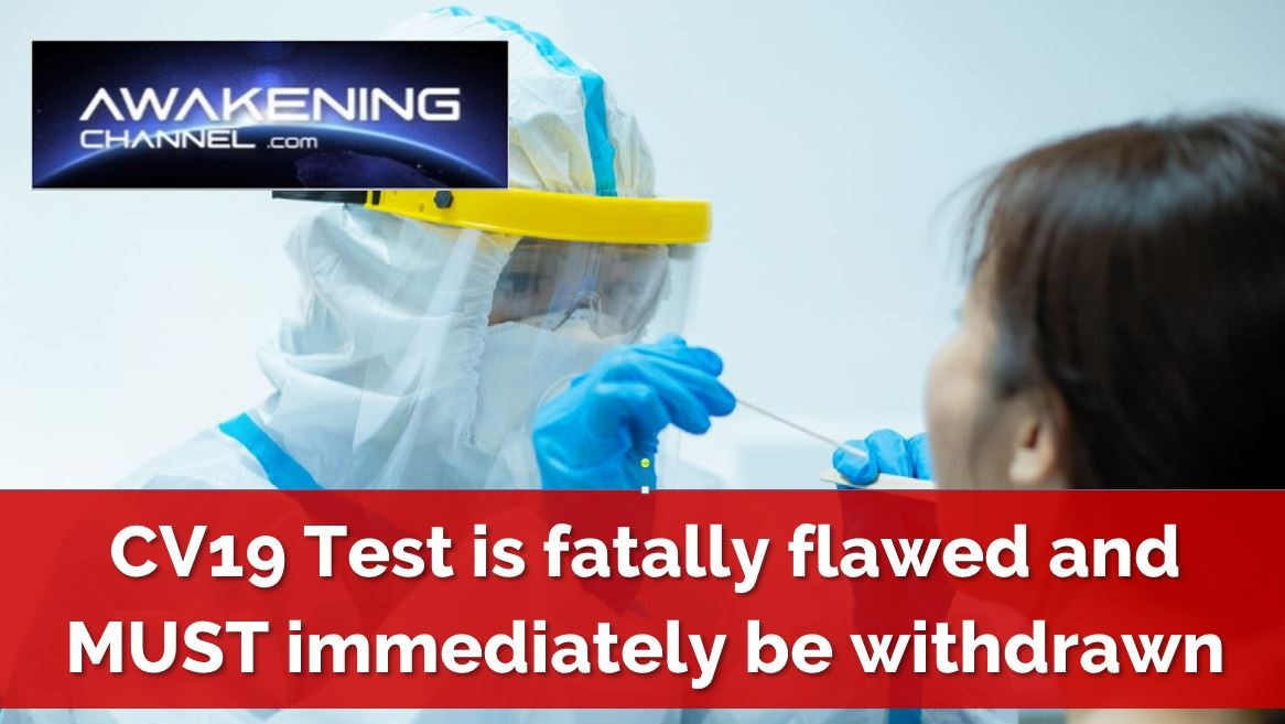 CV19 Test is fatally flawed and MUST immediately be withdrawn, former Pfizer top executive claims