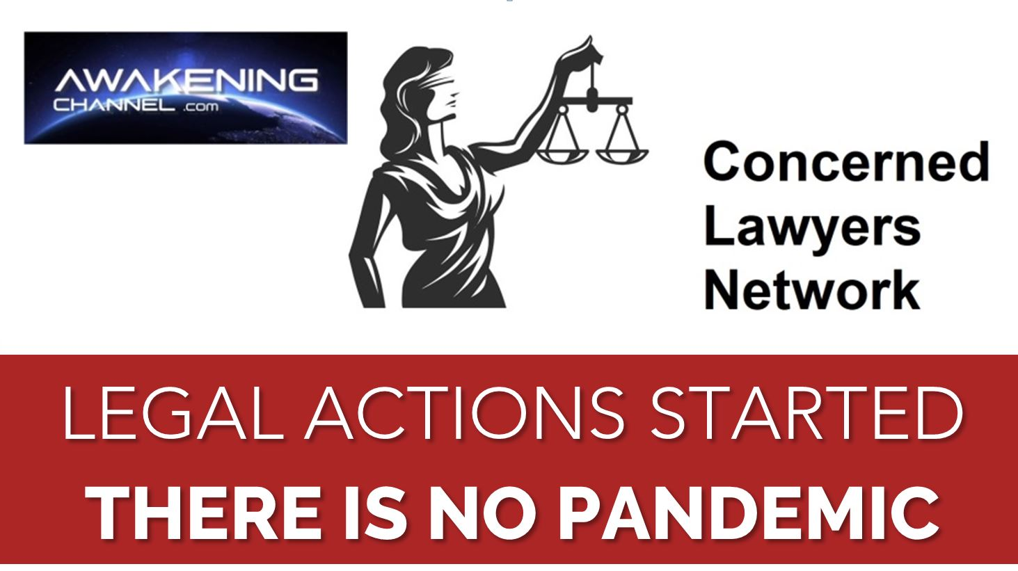 """Network of lawyers """"there is no pandemic, there are global agendas behind"""".  Notice of liability and potential claims issued to the government"""