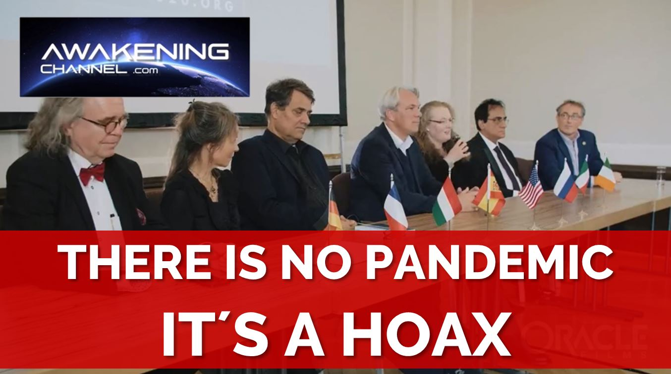 WORLD DOCTORS ALLIANCE, There is no pandemic. It is only a HOAX to take away people´s liberty