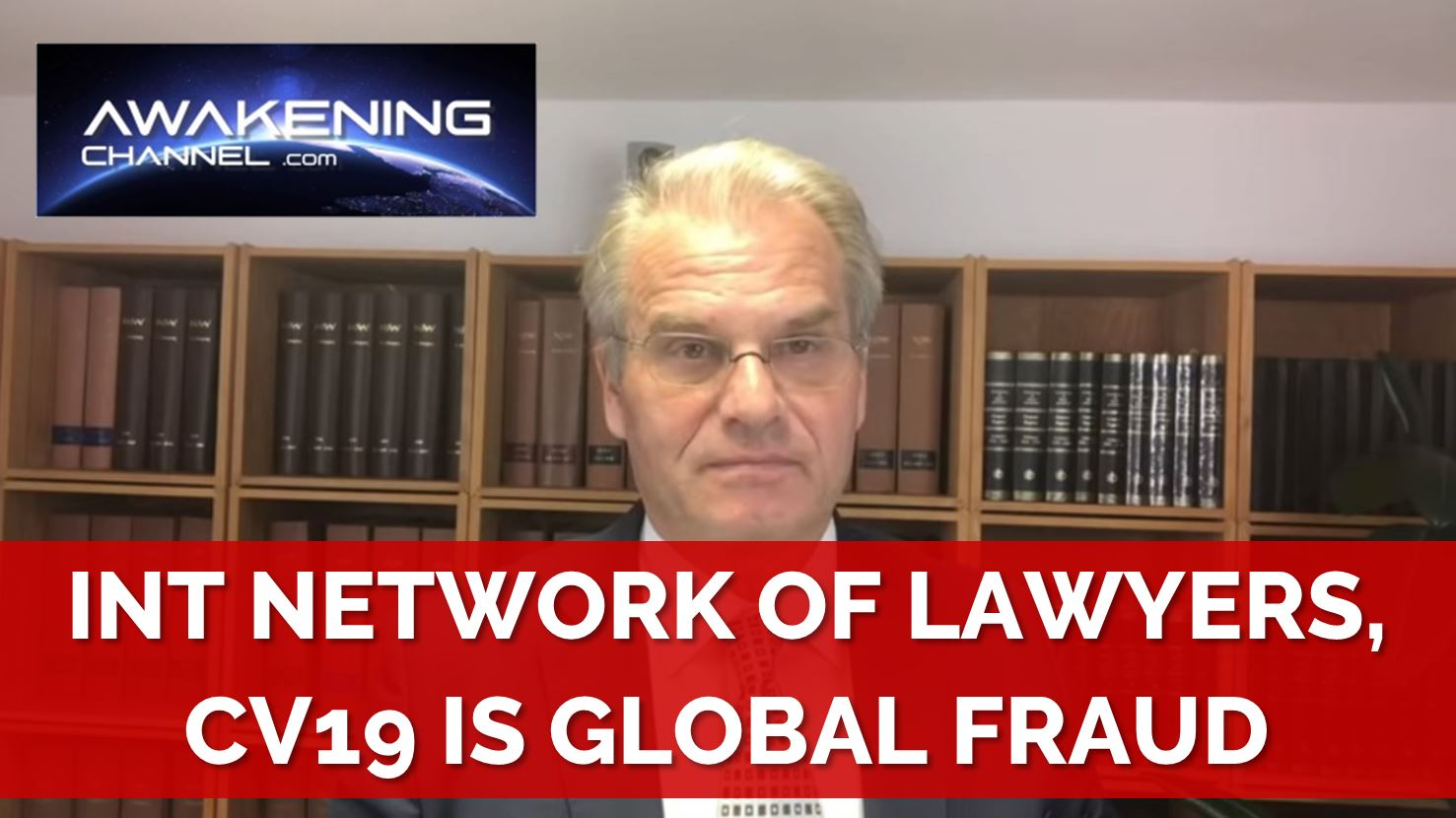 (1) International Network of Lawyers, the CV19 crisis is a Fraud and those Responsible will be Sued (Part 1/24)