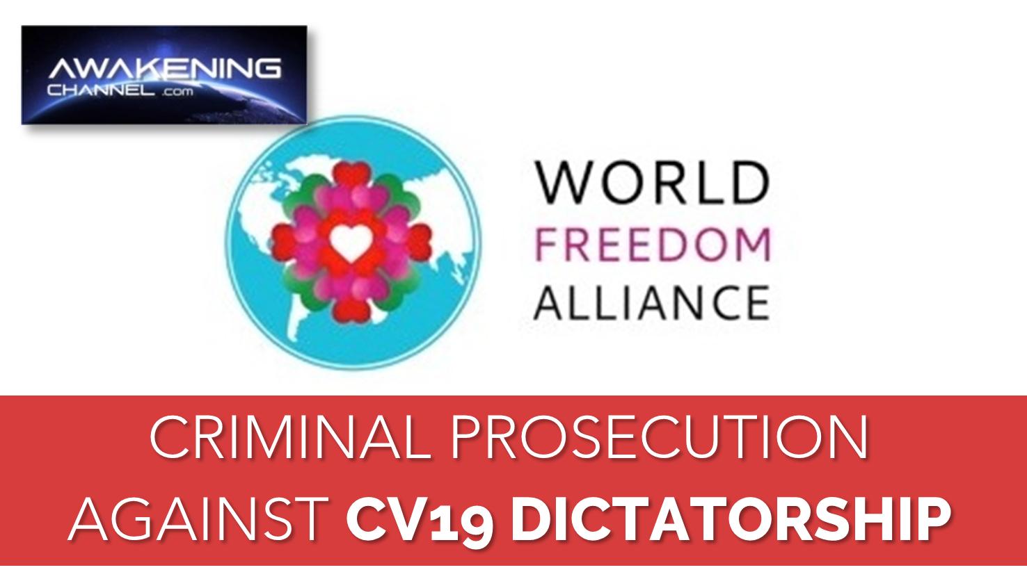 Criminal Prosecution against CV19 Dictatorship