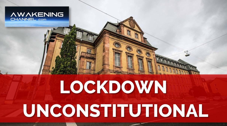 German Court Declares Regional LOCKDOWN UNCONSTITUTIONAL, 'Catastrophically wrong'