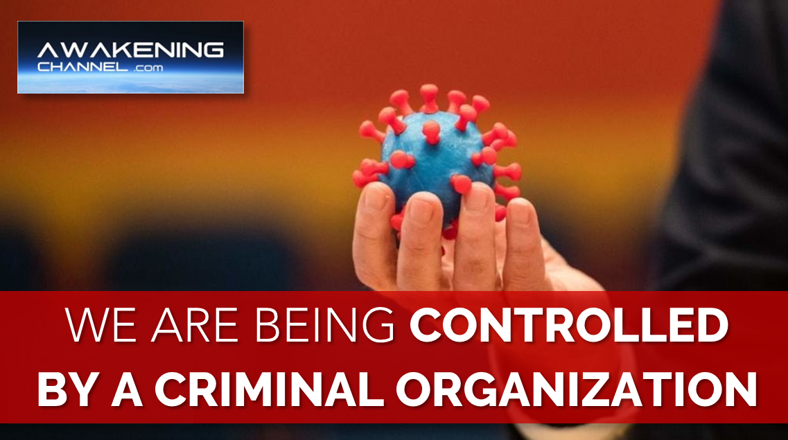 We are being Controlled by a Criminal Organization