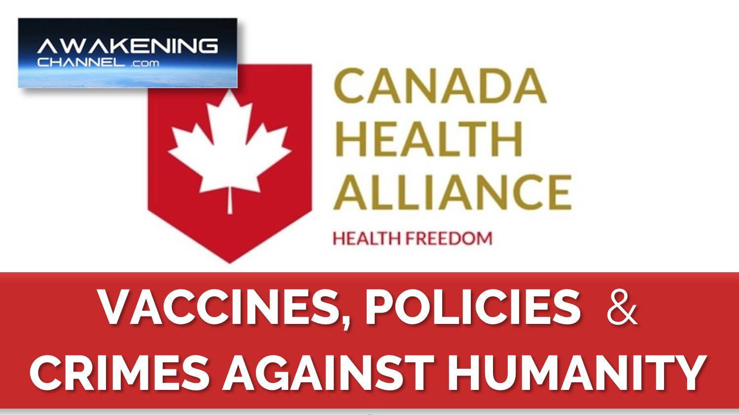 Vaccines, Policies & Crimes Against Humanity