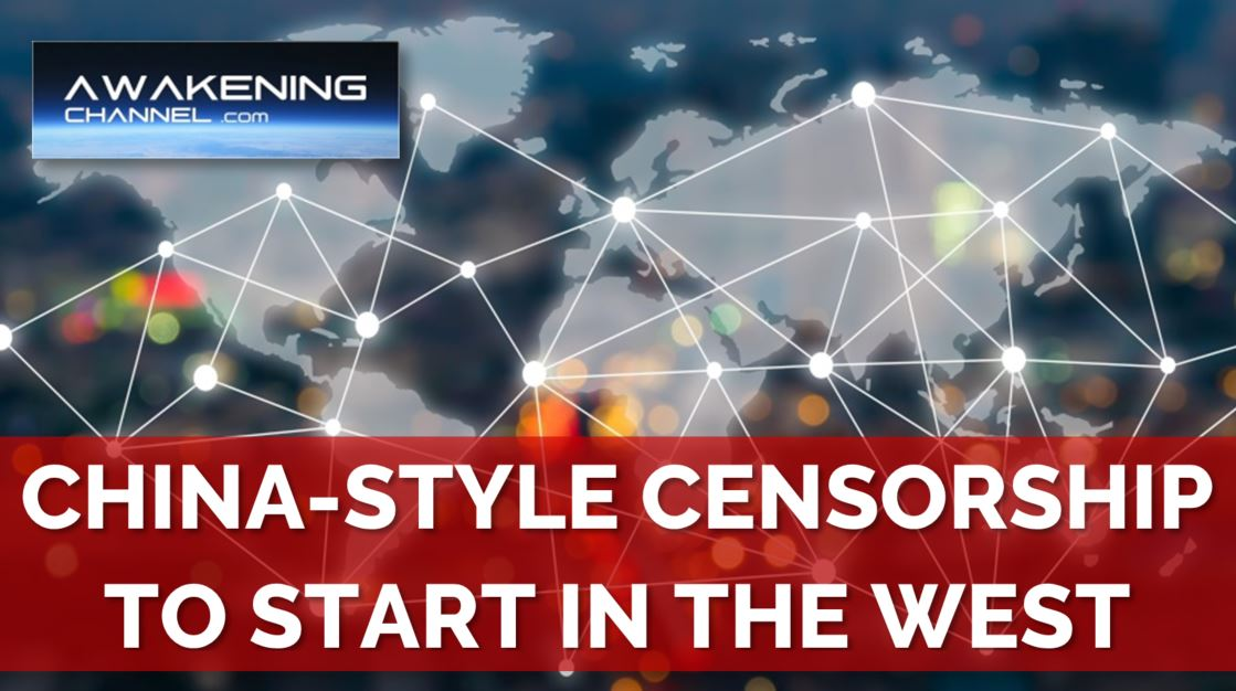 """NEW China-Style Legislation to Censor """"misinformation"""" in the West"""