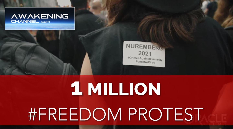 Anti CV19 Gov Measures Protest. 1 Million in Motion