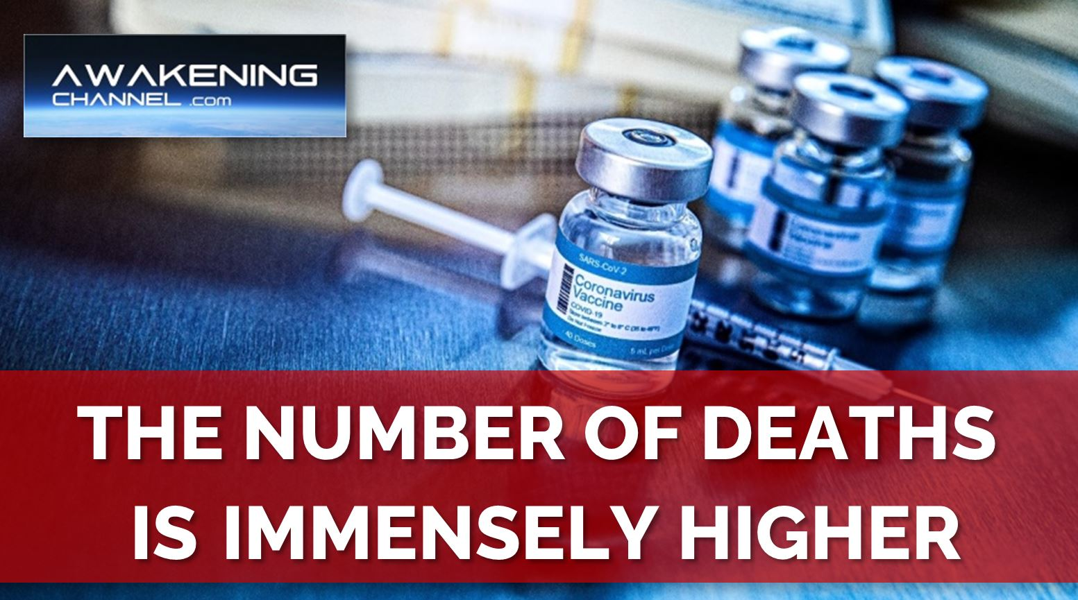 """The Number of DEATHS from the """"Vaccine"""" is IMMENSELY HIGHER than 45,000 in the US. Whistleblower Warning!"""