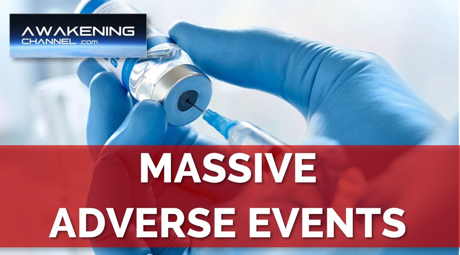 Massive Adverse Events from the CV Vaccine.  Senator Ron Johnson News conference