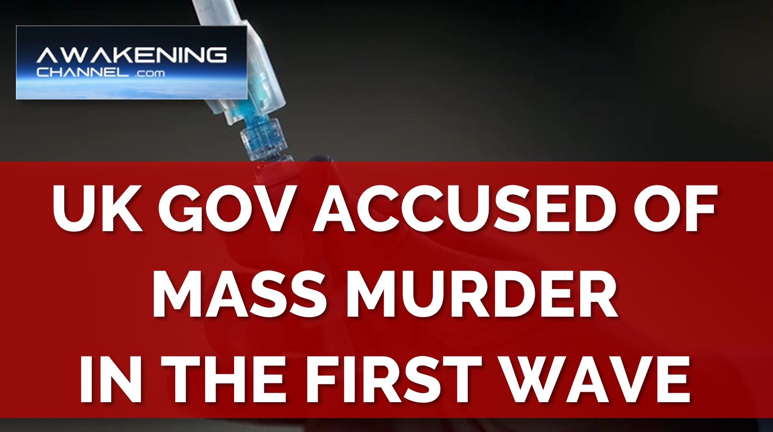 CV19 or Midazolam? UK Gov Accused of Intentionally Murdering People Who Supposedly Died of cv19