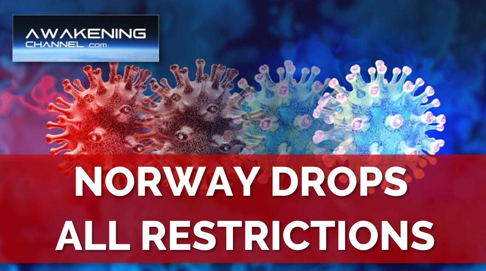 Norway Drops ALL CV19 Restrictions
